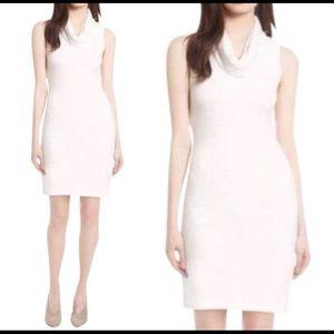 Alice & Olivia White Sleeveless Sweater Dress, XS